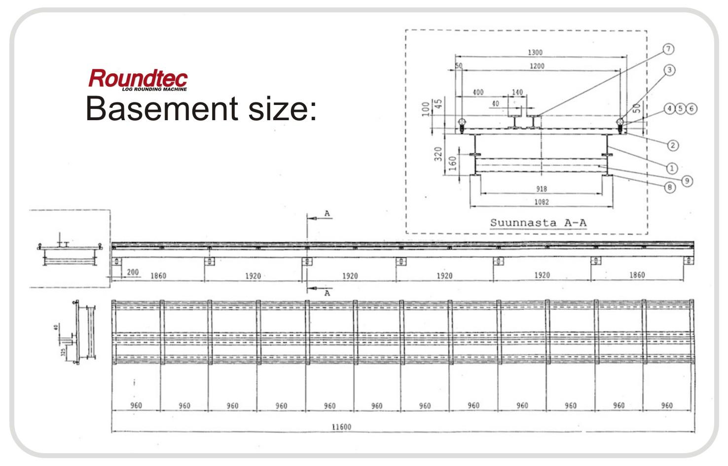 Roundtec basement size