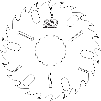 SID 485x3.5-2.5x150-144.5mm